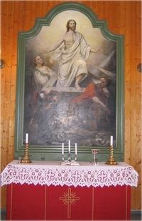 Altertavle i Haugner kirke