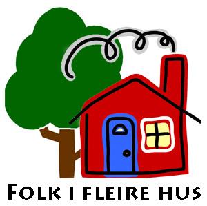Logo - Folk i fleire hus