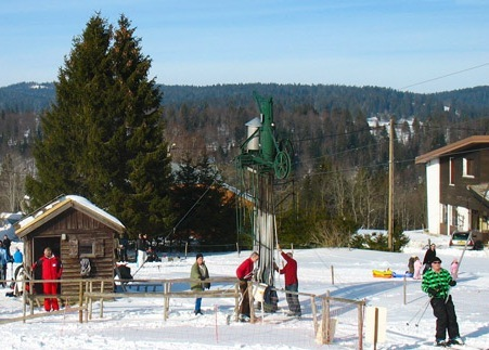 Insolite la station d 39 entre les fourgs vendre pour un euro ski nordi - Station de ski a vendre 1 euro ...