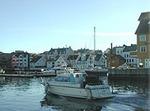 Hamnemiljø i Florø