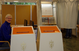 Forhåndsstemming i Ås kulturhus valget 2011