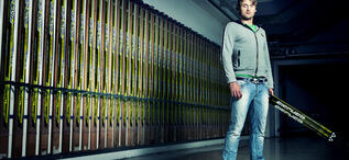 Petter Northug (NOR) at FISCHER Headquarter in Ried im Innkreis, Austria.