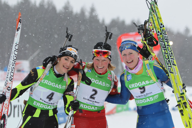 Superbe podium pour marie laure brunet ski - Groupe dauphinoise ...
