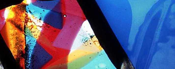 Bent Owesen - Glassfat (detaljer)