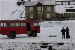 Buss i Barentsburg