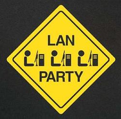 LAN illustrasjon