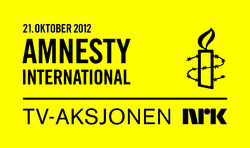 TV-aksjonen 2012 Amnesty International logo