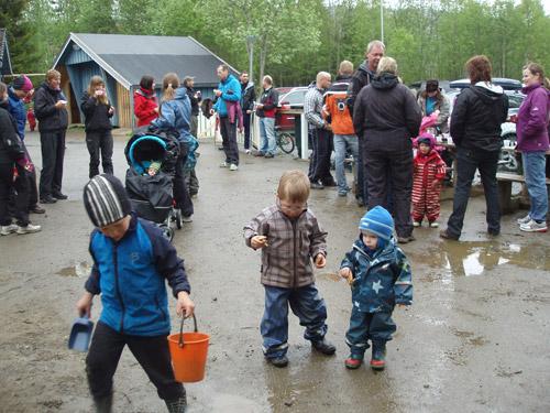 Sommeravslutning i Korgen fysak barnehage Hemnes kommune