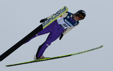 09.03.2012, Oslo, Norway (NOR): Coline Mattel (FRA), Fischer - FIS world cup ski jumping ladies, individual HS106, Lillehammer (NOR). www.nordicfocus.com. © Laiho/NordicFocus. Every downloaded picture is fee-liable.