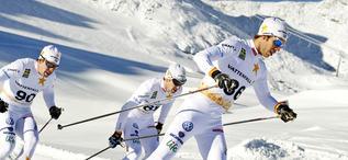 20121016 Svenska Längdlandslaget Val Senales, Team Sweden LängdskidorFOTO: ULF PALM