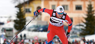 01.01.2013, Val Muestair, Switzerland (SUI): Petter Northug (NOR)- FIS world cup cross-country, tour de ski, individual sprint, Val Muestair (SUI). www.nordicfocus.com.  Felgenhauer/NordicFocus. Every downloaded picture is fee-liable.