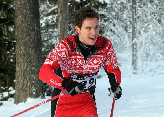 SKIDSKYTTEN Erik Forsgren, Tullus, blev 17:e. Foto: THORD ERIC NILSSON