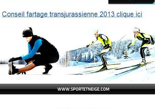 transjurassienne quel fartage pour la course ski. Black Bedroom Furniture Sets. Home Design Ideas