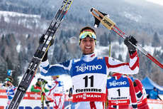 22.02.2013, Val di Fiemme, Italy (ITA): Jason Lamy Chappuis (FRA)- FIS nordic world ski championships, nordic combined, individual gundersen HS106/10km, Val di Fiemme (ITA). www.nordicfocus.com.  Felgenhauer/NordicFocus. Every downloaded picture is fee