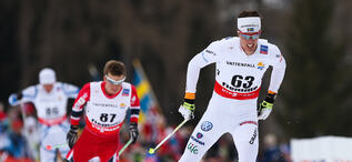 27.02.2013, Val di Fiemme, Italy (ITA): Calle Halfvarsson (SWE), Fischer, One Way, Alpina, Rottefella, Craft - FIS nordic world ski championships, cross-country, 15km men, Val di Fiemme (ITA). www.nordicfocus.com. © Laiho/NordicFocus. Every downloaded