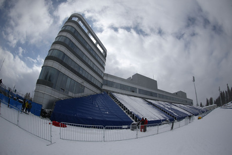 05.03.2013, Sochi, Russia (RUS):Event Feature: the biathlon venue of sochi - IBU world cup biathlon, training, Sochi (RUS). www.nordicfocus.com.  Manzoni/NordicFocus. Every downloaded picture is fee-liable.