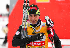 16.03.13, Oslo, Norway (NOR): Jason Lamy Chappuis (FRA), Salomon, Swix, One Way and the Holmenkollen medal- FIS world cup nordic combined, individual gundersen HS134/10km, Oslo (NOR). www.nordicfocus.com. © Laiho/NordicFocus. Every downloaded picture is