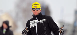 19.02.2012, Tartu, Estonia (EST): Thomas Alsgaard (NOR), Team United Bakeries, Madshus - FIS Marathon Cup Tartumarathon, Tartu (EST). www.nordicfocus.com. © Laiho/NordicFocus. Every downloaded picture is fee-liable.