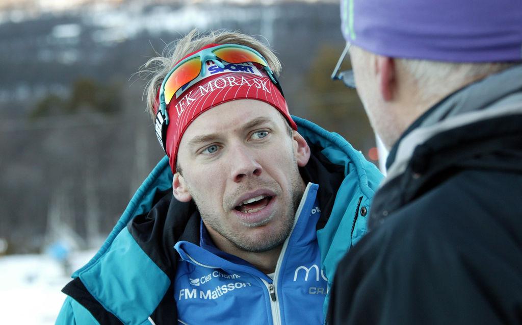 OS-HOPPET Emil Jönsson sliter fortfarande med sina virusproblem och var inte med när landslaget - 5323251_2274472