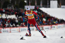 24.03.2013, Falun, Sweden (SWE): Petter Northug (NOR)- FIS world cup cross-country, pursuit men, Falun (SWE). www.nordicfocus.com. © Felgenhauer/NordicFocus. Every downloaded picture is fee-liable.