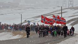 17. mai 2013 i Longyearbyen på Svalbard Foto: Terje Carlsen