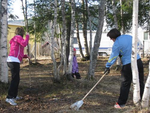Stor aktivitet på Bjerka i forkant av 17 mai Hemnes kommune
