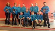 Her er vi på Sjokoladekappleiken på Vestnes i fjor!