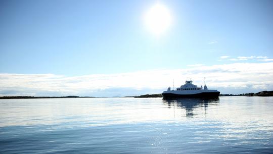Bildet er tatt fra Grindstrand.