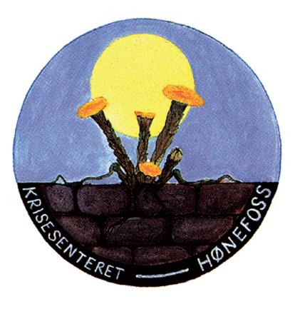 Hønefoss Krisesenter logo