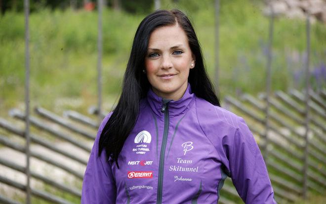 JOHANNA OJALA är doldisen som blir expert i SVT:s Vinterstudion i vinter. Foto: KJELL-ERIK KRISTIANSEN