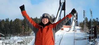 ANKI KJELLBERG blir en av sportcheferna under skid-VM i Falun 2015. Foto: SVENSKA SKIDSPELEN