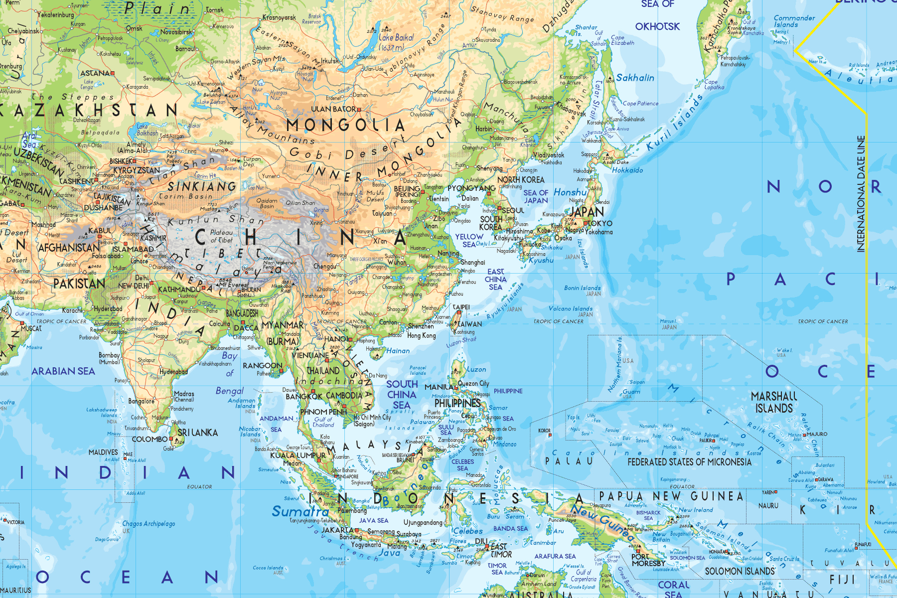 kart over land i asia Å Dra Til Asia   Absolute Hotties kart over land i asia