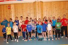 KM i badminton på hjemmebane
