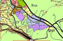 Kommuneplanutsnitt Roa