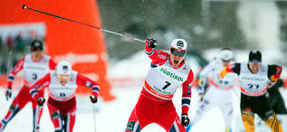 02.02.2014, Toblach, Italy (ITA): Ola Vigen Hattestad (NOR)- FIS world cup cross-country, individual sprint, Toblach (ITA). www.nordicfocus.com. © Manzoni/NordicFocus. Every downloaded picture is fee-liable.