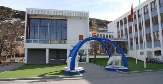 Inngangsportal rådhuset