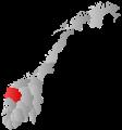 Sogn og Fjordane within Norway