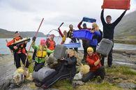 Øytunelevene har siden 2012 samlet over 4 tonn søppel i Bårdfjorden