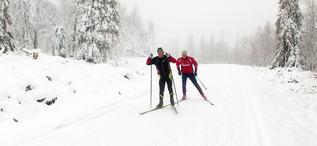 Snö i Lycksele (kopia)