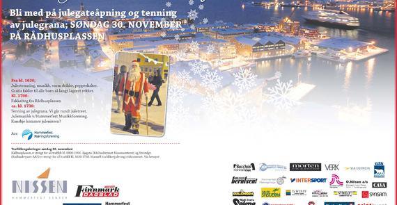 Julegateåpning 2014