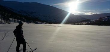 På ski i Vigdalen
