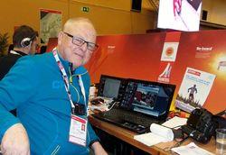 THORD-ERIC NILSSON har skrivit boken om Åsarna IK, den stora guldklubben i svensk längdåkning.