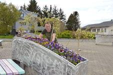 Unike blomsterbruer på torget_Tommy