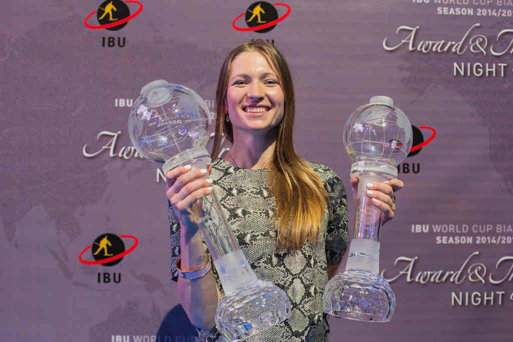 Bilan 2015 le classement de la coupe du monde f minine - Classement coupe du monde de biathlon ...