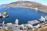 Hammerfest tatt fra Salene