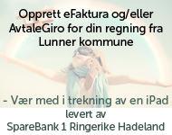 Opprett eFaktura eller avtalegiro - Vær med i trekningen av en iPad