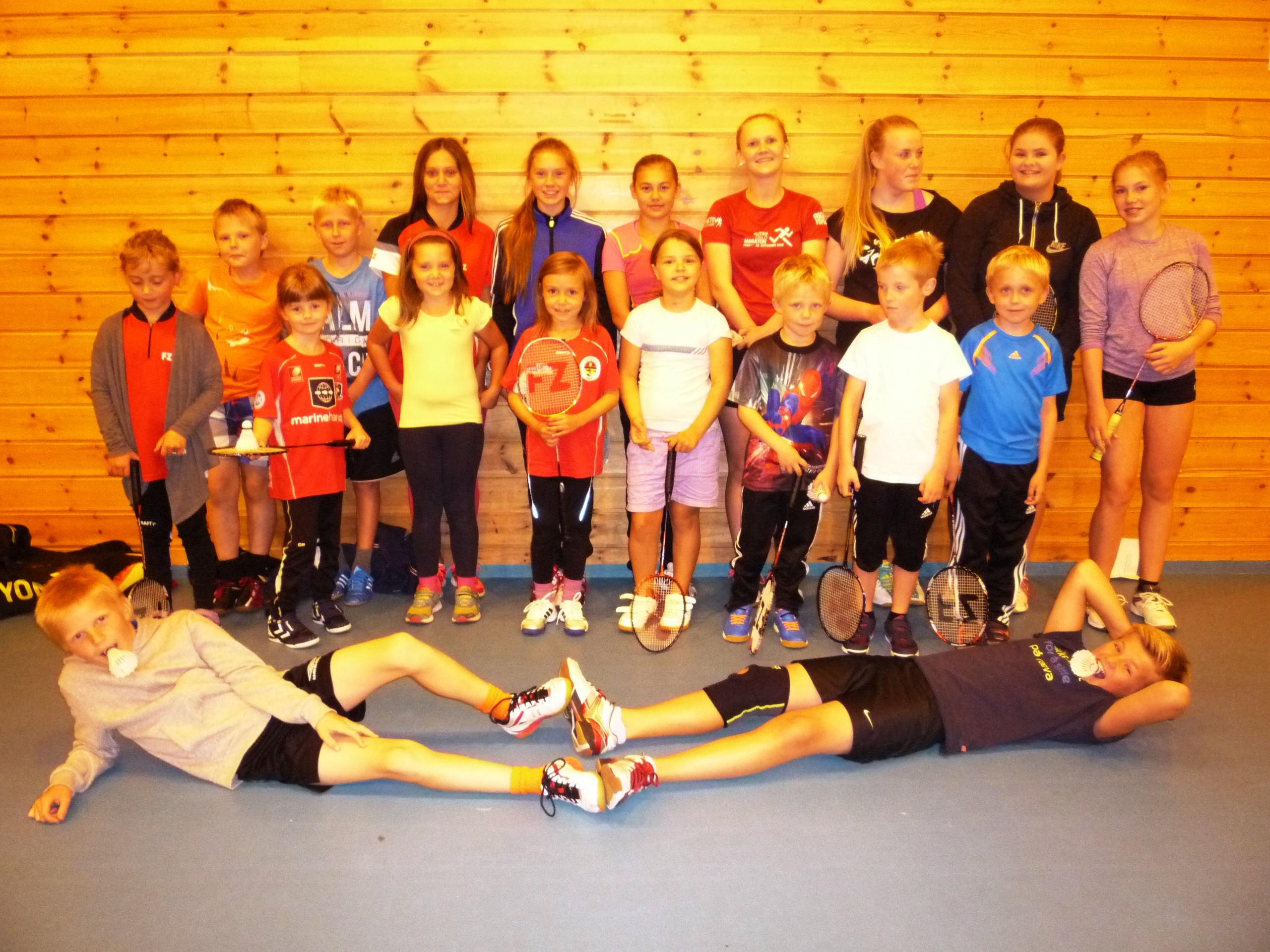 Nybegynnerkurs i badminton