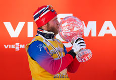 14.03.2015, Oslo, Norway (NOR): world cup overall winner Martin Jonsrud Sundby (NOR), Fischer, KV+, Rottefella- FIS world cup cross-country, mass men, Oslo (NOR). www.nordicfocus.com. © Laiho/NordicFocus. Every downloaded picture is fee-liable.
