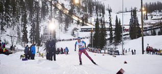 28.11.2015, Ruka, Finland (FIN):Polina Kovaleva (RUS) - FIS world cup cross-country, training, Ruka (FIN). www.nordicfocus.com. © Felgenhauer/NordicFocus. Every downloaded picture is fee-liable.