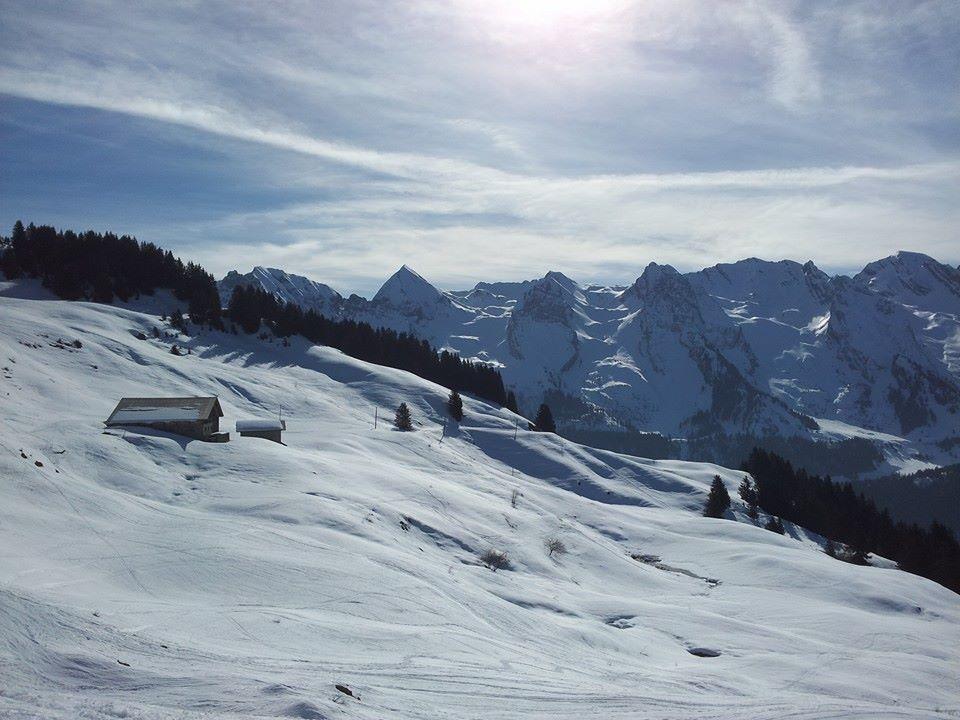 Foyer Nordique Grand Bornand : De la neige pour noël ski nordique